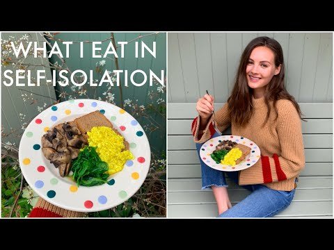 WHAT I EAT IN SELF-ISOLATION | Healthy Vegan Recipes