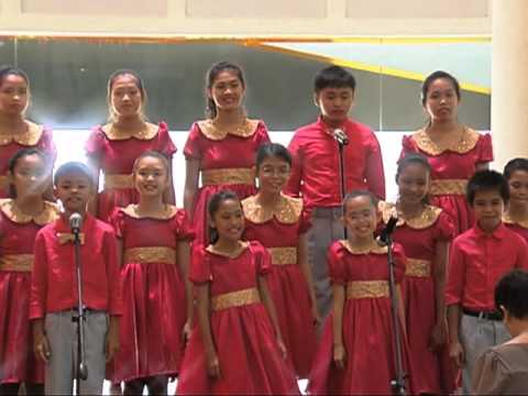 Loboc Children's Choir   Visayan folk song medley