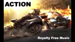 Intense Action Background Music for Videos   Epic Dramatic Rock Royalty Free Music