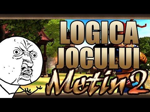 Logica jocului Metin2 (PARODIE)