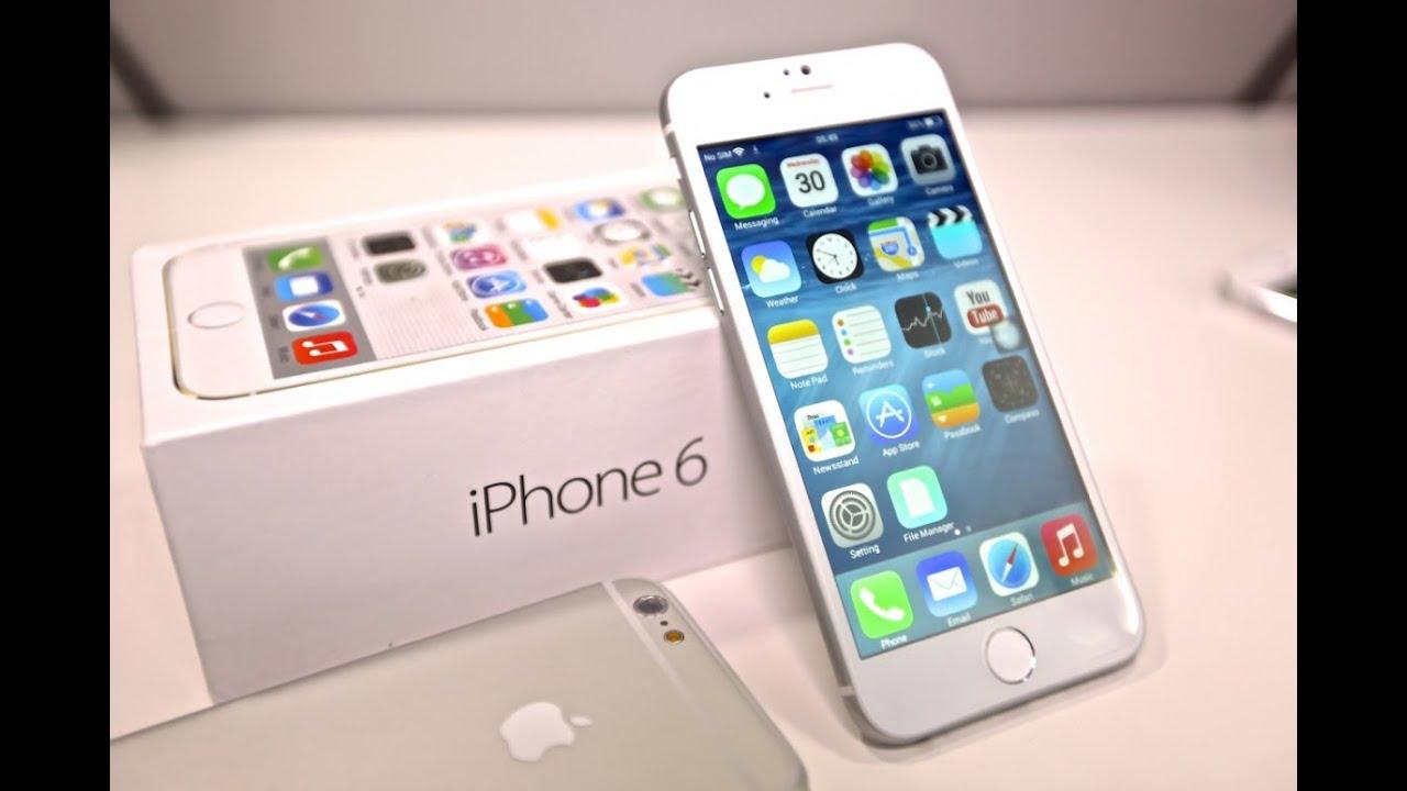 Видеообзор копии Apple iPhone 6+ на мтк 6582, купить копию айфон 6 .