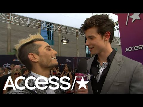 Shawn Mendes Talks With Frankie Grande About His Powerful 'In My Blood' Video | Access