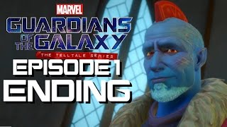 Guardians Of The Galaxy Walkthrough - Episode 1 Part 3 Ending - The Death Of Sta
