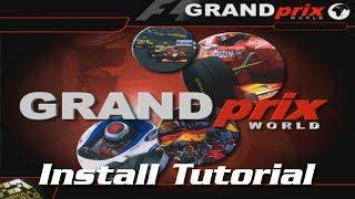 Grand Prix World - Install Tutorial (Windows 10 + 8)