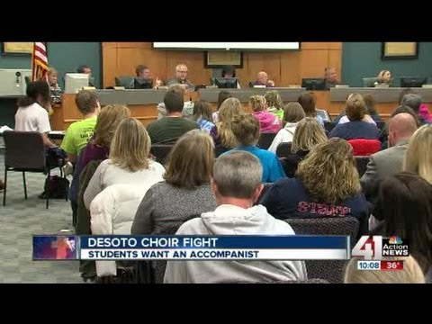 Sour notes over DeSoto school choir