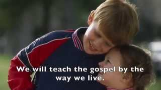 LDS Primary Songs - Holding Hands Around the World