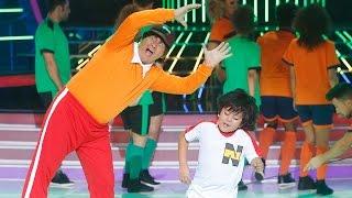 Repeat youtube video Miki Nadal y Fran imitan a Oliver y Benji en Tu cara me suena Mini