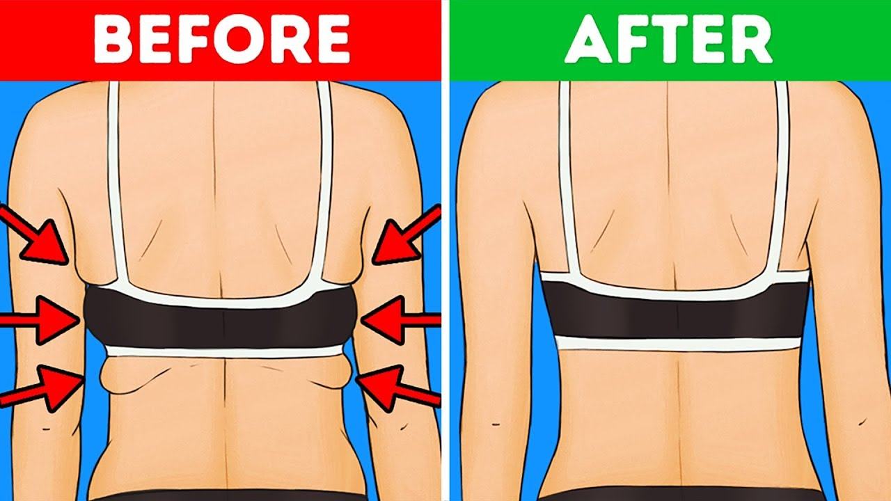 081bb5e638e8b 10 Exercises to Get Rid of Back and Armpit Fat In 10 Minutes - YouTube