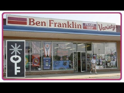 Awesome Vintage Ben Franklin Five And Dime Variety Store Canton Ohio