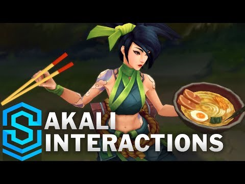 Akali Special Interactions