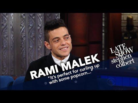 Rami Malek Had To Watch Queen Listen To Him Sing Queen