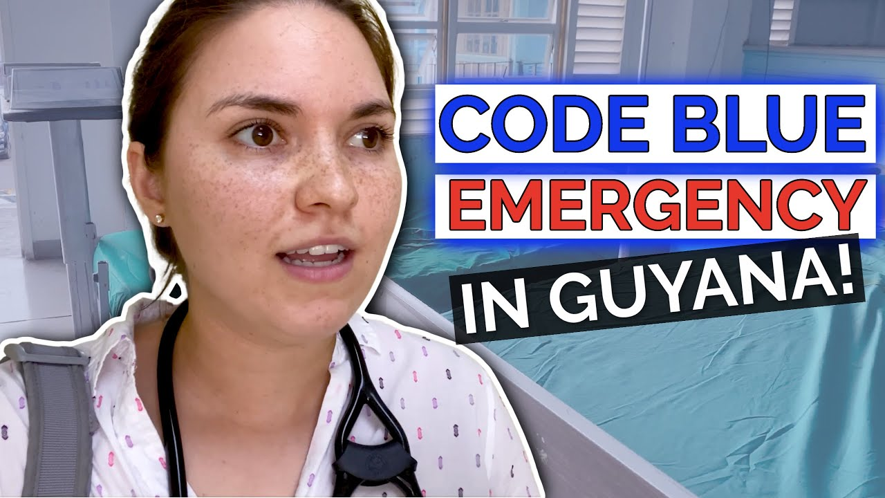 DAY IN THE LIFE OF A DOCTOR: Violin MD in GUYANA with CODE BLUE EMERGENCY!