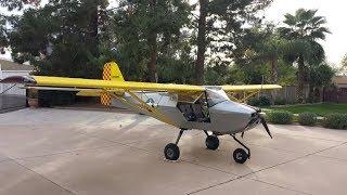 Kitfox 10 Minute Folding Wings Airplane