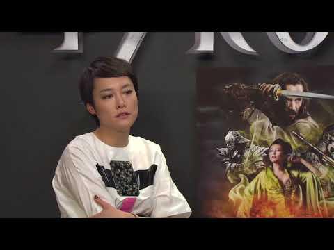 47 RONIN (2013) Junket Interview Rinko Kikuchi & Tadanobu Asano