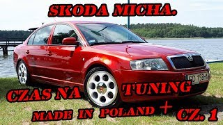 Skoda Micha. CZAS NA TUNING MADE IN POLAND PLUS.