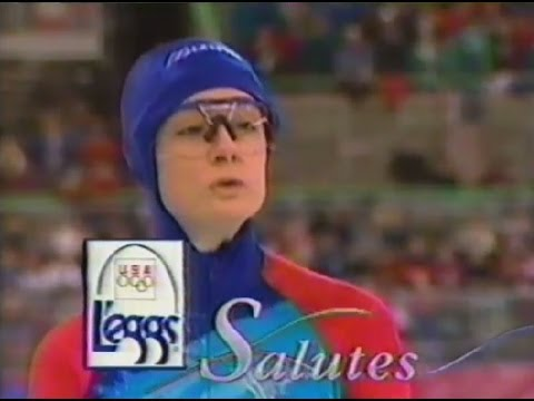 1994 LEGGS ad for skater BONNIE BLAIR - USA Olympic Champion