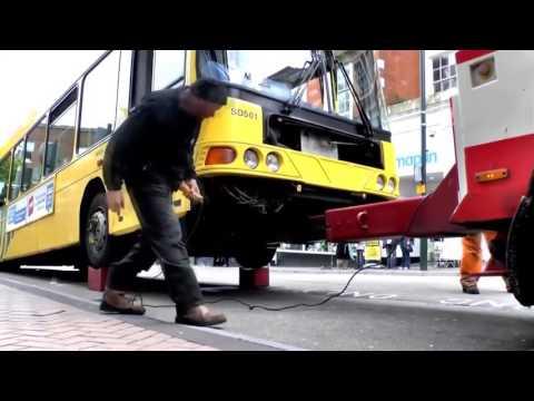 Авто эвакуатор для автобусов в Америке