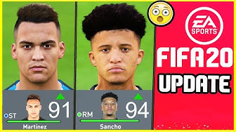NEW FIFA 20 UPDATE - NEW TRANSFER ADDED, REMOVED PLAYERS, NEW RATINGS & POTENTIALS - Career Mode