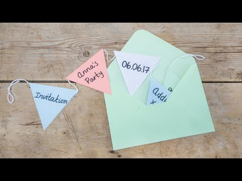 Diy Fun Invitations For Parties By Sostrene Grene