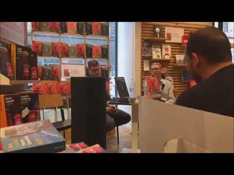 Jeff Lemire alla libreria Feltrinelli di Firenze