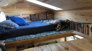 House Design : Stephanie's Tiny House On Wheels In Florida