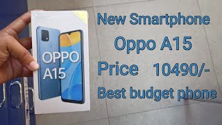 Oppo A15 Unboxing & First Look | Mystery Blue Colour | 3/32GB | Best budget phone