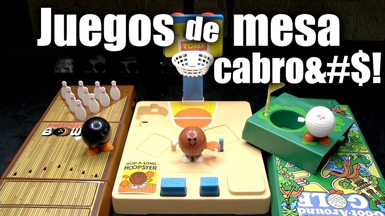 3 Juegos De Mesa Antiguos Chidos Y Cabro Youtube