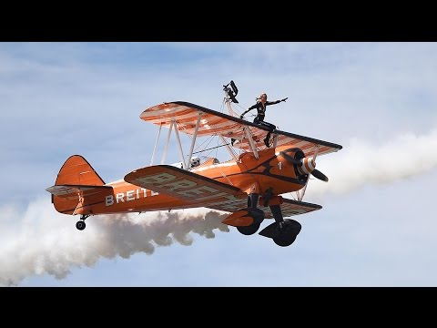 Weird and wonderful jobs in 360: the high-flying life of a wingwalker
