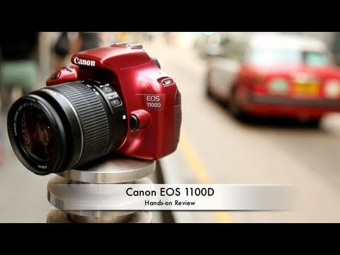 Canon EOS 1100D (Rebel T3) Hands-on Review