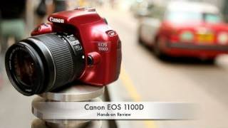 Canon EOS 1100D (Rebel T3) Hands-on Review(It's been a while since Canon last introduced the EOS 1000D Rebel XS (http://bit.ly/Cano_1100D), and everyone thought it was dead. Now, around 2 years later, ..., 2011-04-21T13:30:59.000Z)