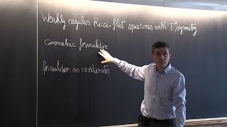 23/10/2015 -  Philippe G. LeFloch - Lecture 3 - Weak solutions to the Einstein equations
