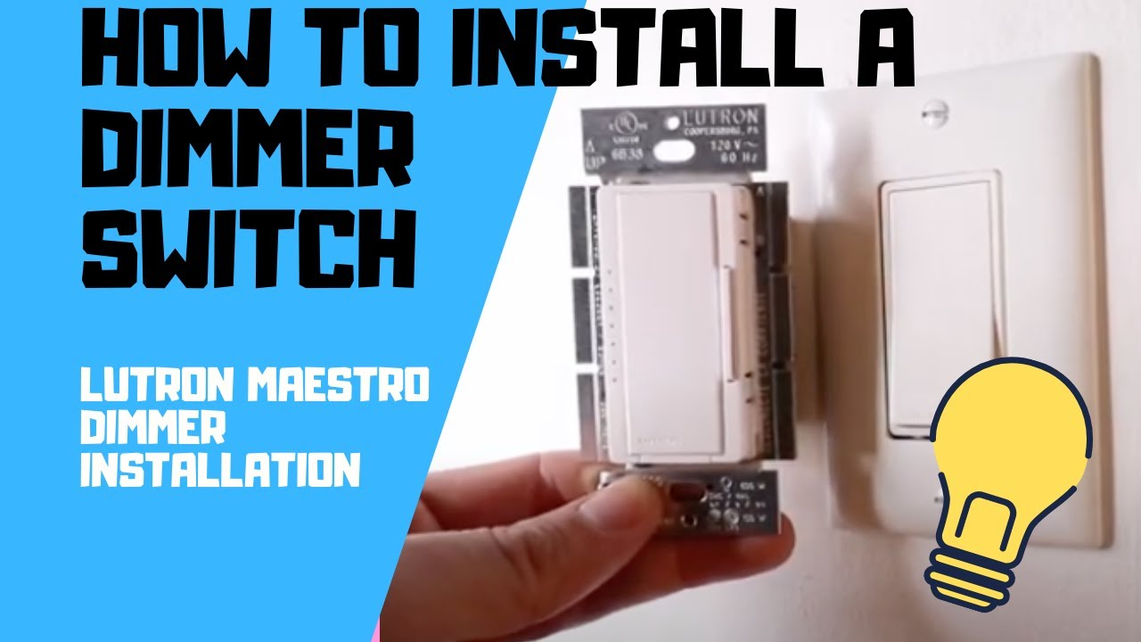 Lutron Maestro Installation Youtube