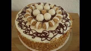 """Торт """"Черный лес"""" """"Schwarzwelderkirsch"""" Torte mit Kirsch, Rafaelo und Giotto"""