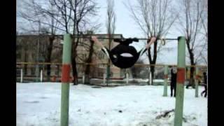 Губкин. Видео отчет за 2010. Турник(На видео присутствуют Ерофеев Сергей и Судаков Дмитрий. На этом видео есть и технические элементы , и силовы..., 2011-01-23T15:08:47.000Z)