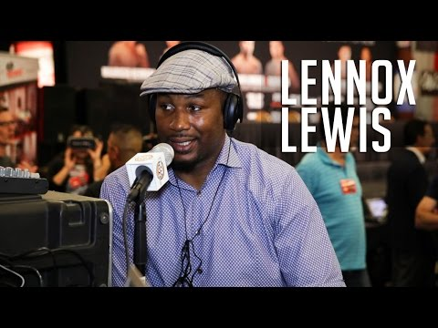 Lennox Lewis Opens Up About About His Relationship With Mike Tyson + Being An Undisputed Champion!