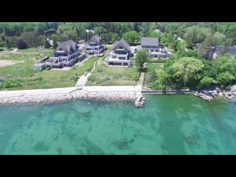 Oakville Homes off Lake Ontario - DJI Phantom 3 Professional