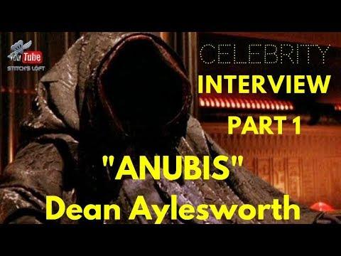 Download ⭐️ANUBIS - DEAN AYLESWORTH - X-FILES - CELEBRITY INTERVIEW - PART 1 ⭐️ - STITCH'S LOFT