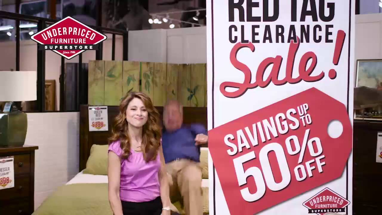 Underpriced Furniture Red Tag Furniture Sale YouTube - Red tag furniture