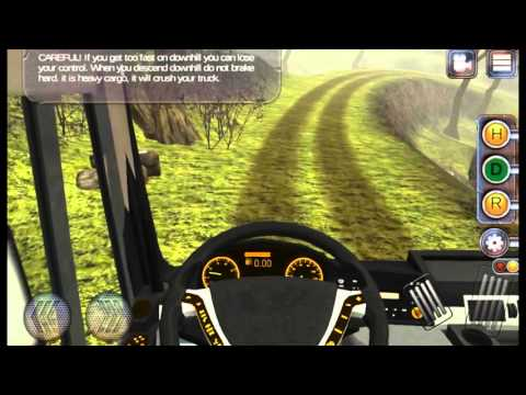 Truck simulator: Offroad Android Gameplay (Level 1)