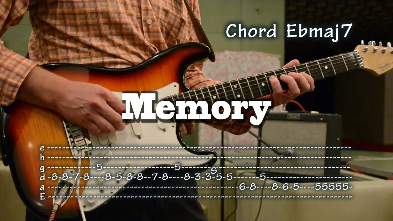 Memory Cats Musical Instrumental Guitar Cover With Tabs And Chords