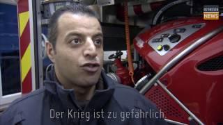 FLÜCHTLING bei der FEUERWEHR | Eyad packts an