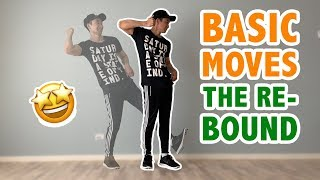 Hip Hop Dance Moves (EASY): The Rebound | Step By Step Dance Tutorial for Beginners
