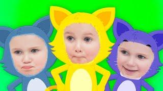 Три милых котенка-Котятки и перчатки. Three Little Kittens