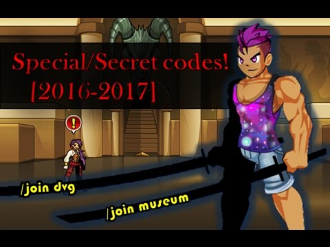 =AQW=Special/Secret codes! [2016-2017] (/join museum)(/join dvg)