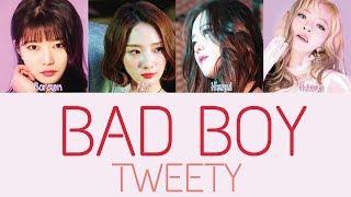 TWEETY - BAD BOY [Hang, Rom & Eng Lyrics]