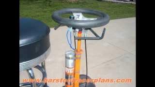 N.o.s Powered Bar Stool Racer By Www.barstoolracerplans.com