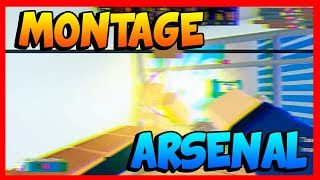 BEST MONTAGE ARSENAL | Kill compilation | Roblox | 2019
