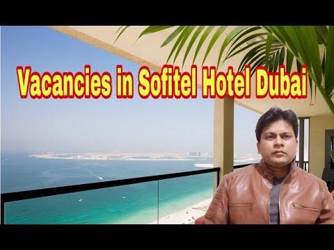 181 Vacancies In Sofitel Hotel Dubai