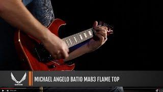 Dean Guitars MIchael Angelo Batio MAB 3 Flame Top