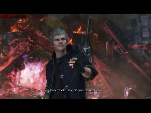 Devil May Cry 5 4K RADEON VII WITH 2700x